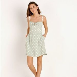 NWT polka dot mini